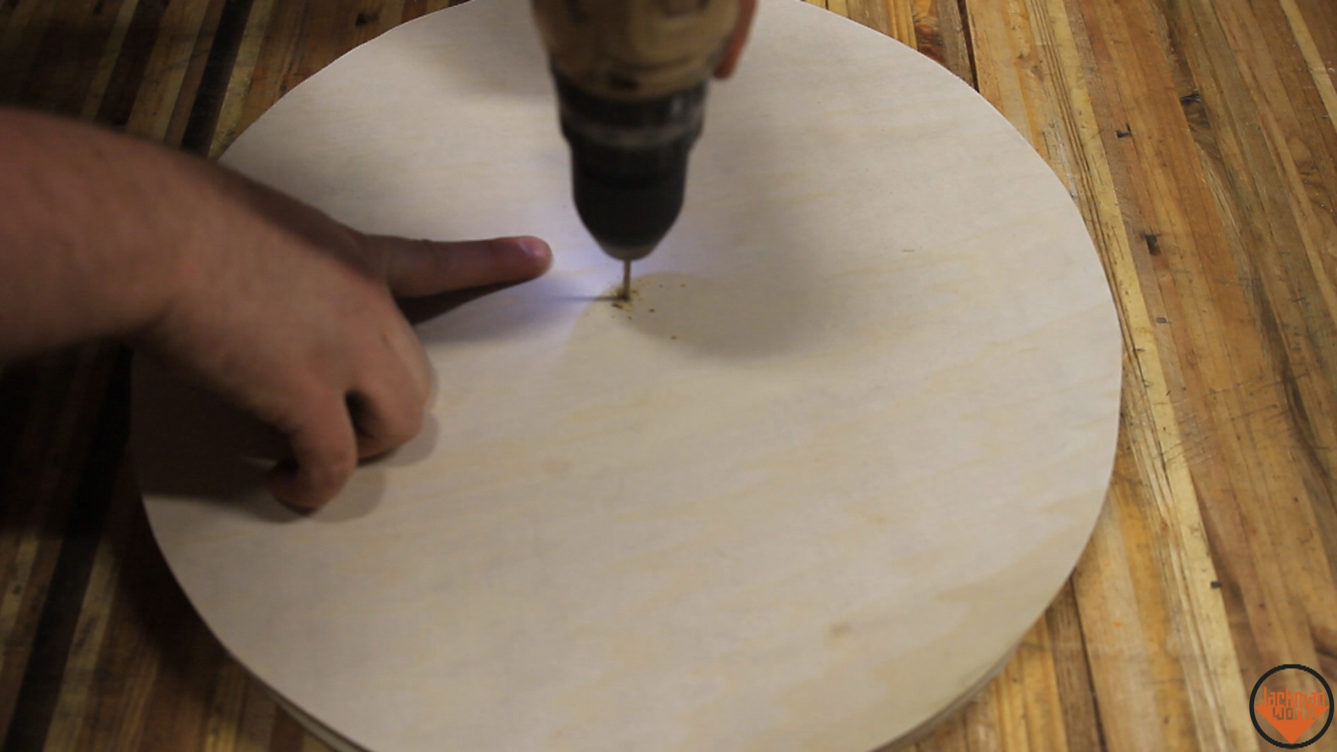 Picture of Cutting Out the Disks