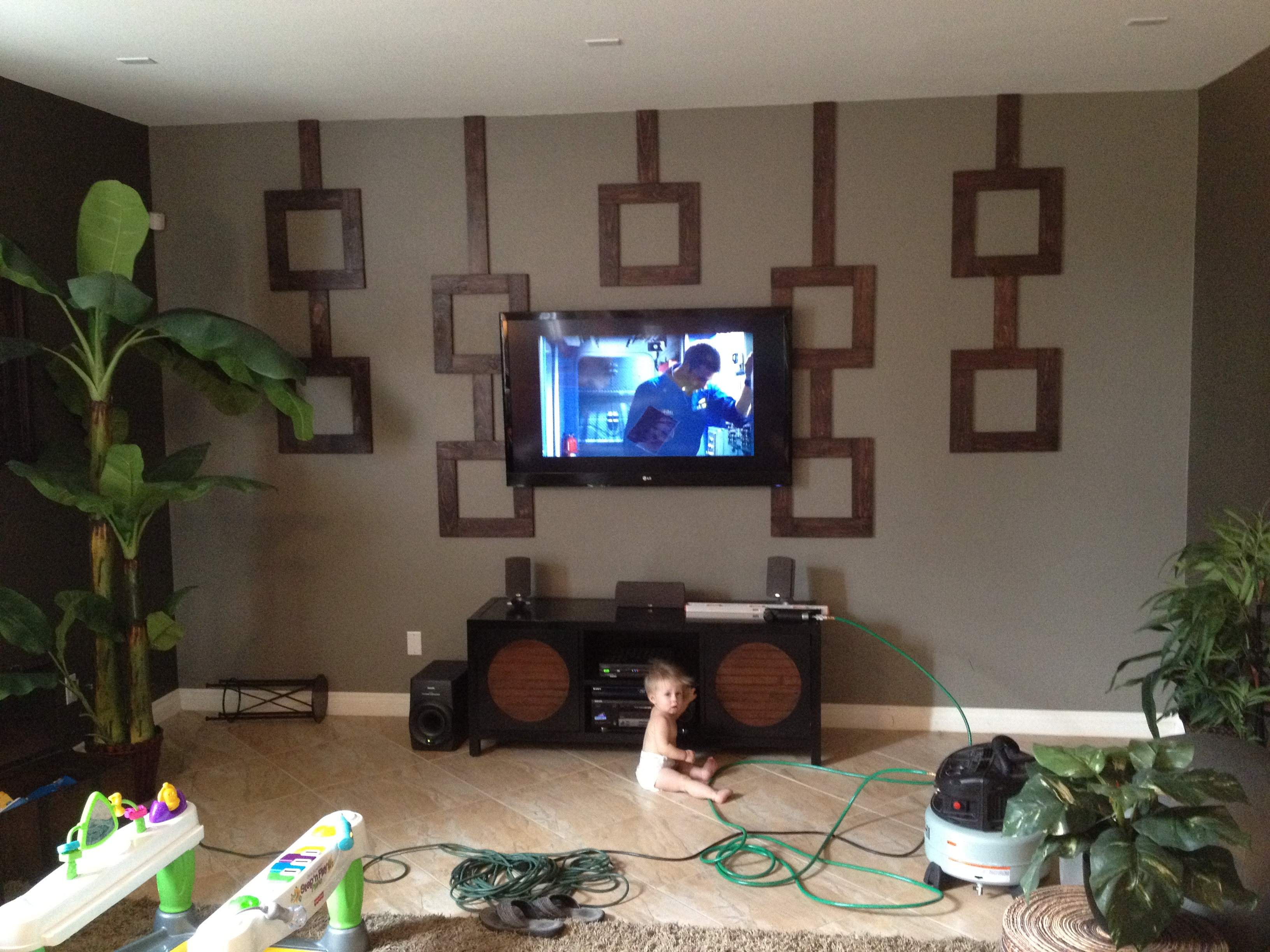 Picture of Custom Wood Wall Design