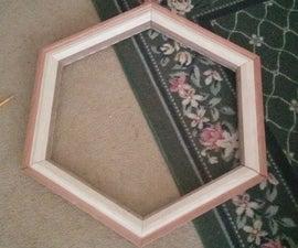 Hexagonal Picture Frame Wedding Gift
