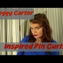 Peggy Carter Inspired Pin Curls