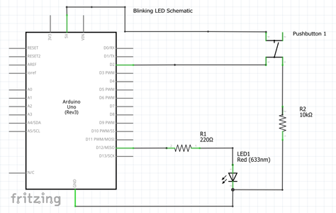 Modifying the Circuit to Add a Push Button