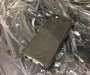 DIY Carbon Fiber Cell Phone Case