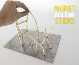 Magnet Building Sticks