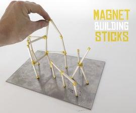 Magnet Building Sticks