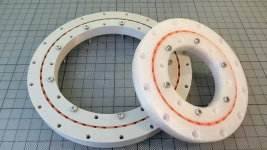 Create a Parametric 3d-printable Slew Bearing With Fusion 360