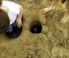 Dig your way to a super massive beach hole