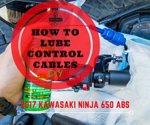 How to Lube Control Cables