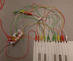 Graphite Piano Keyboard with MaKey MaKey and Scratch