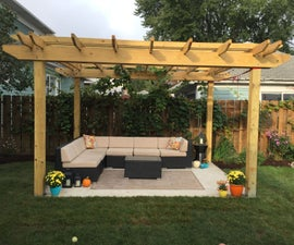 Make a Back Yard Pergola