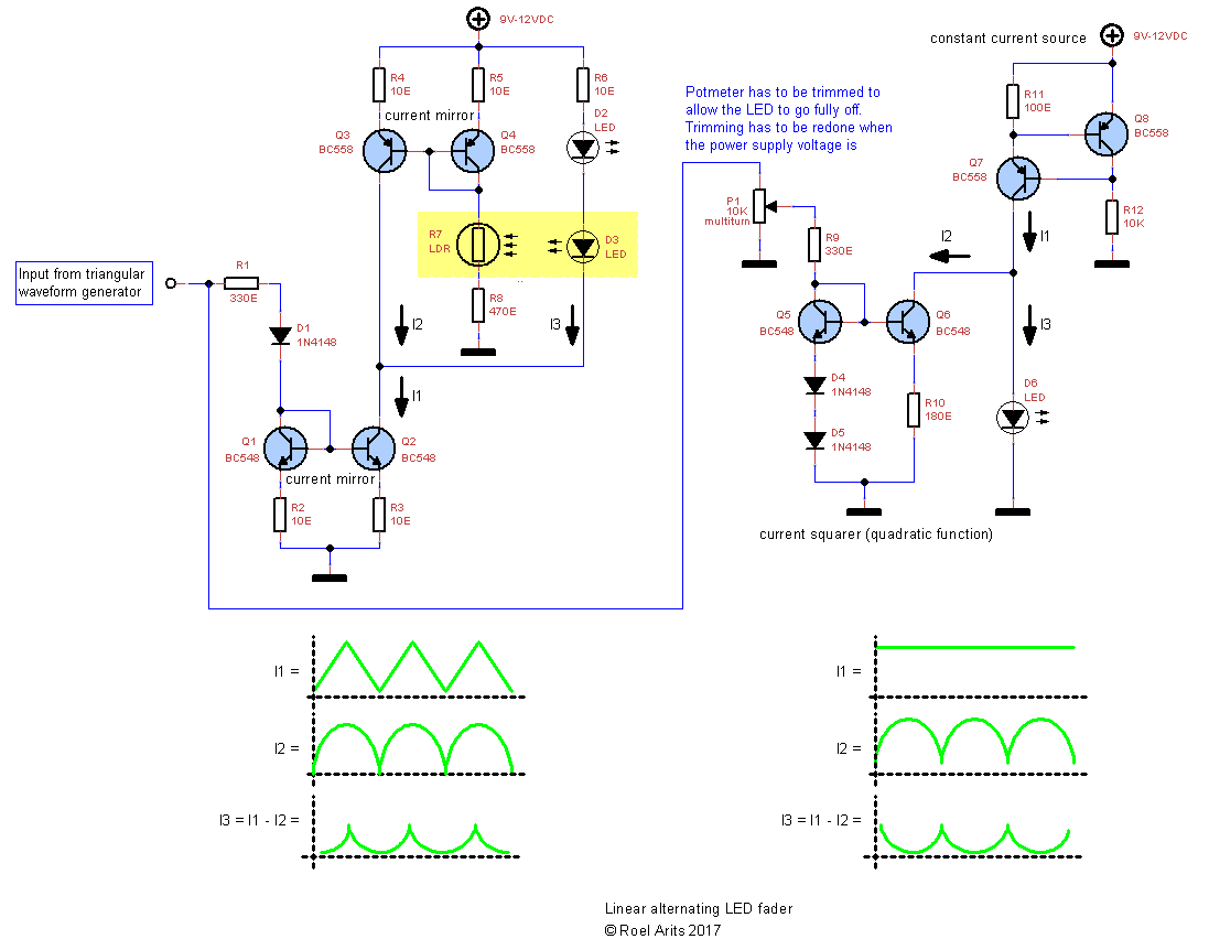 Picture of Schematic4 - Alternating LED Fader by Combining Both Circuits