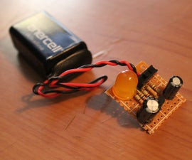 How to make an led pulse circuit