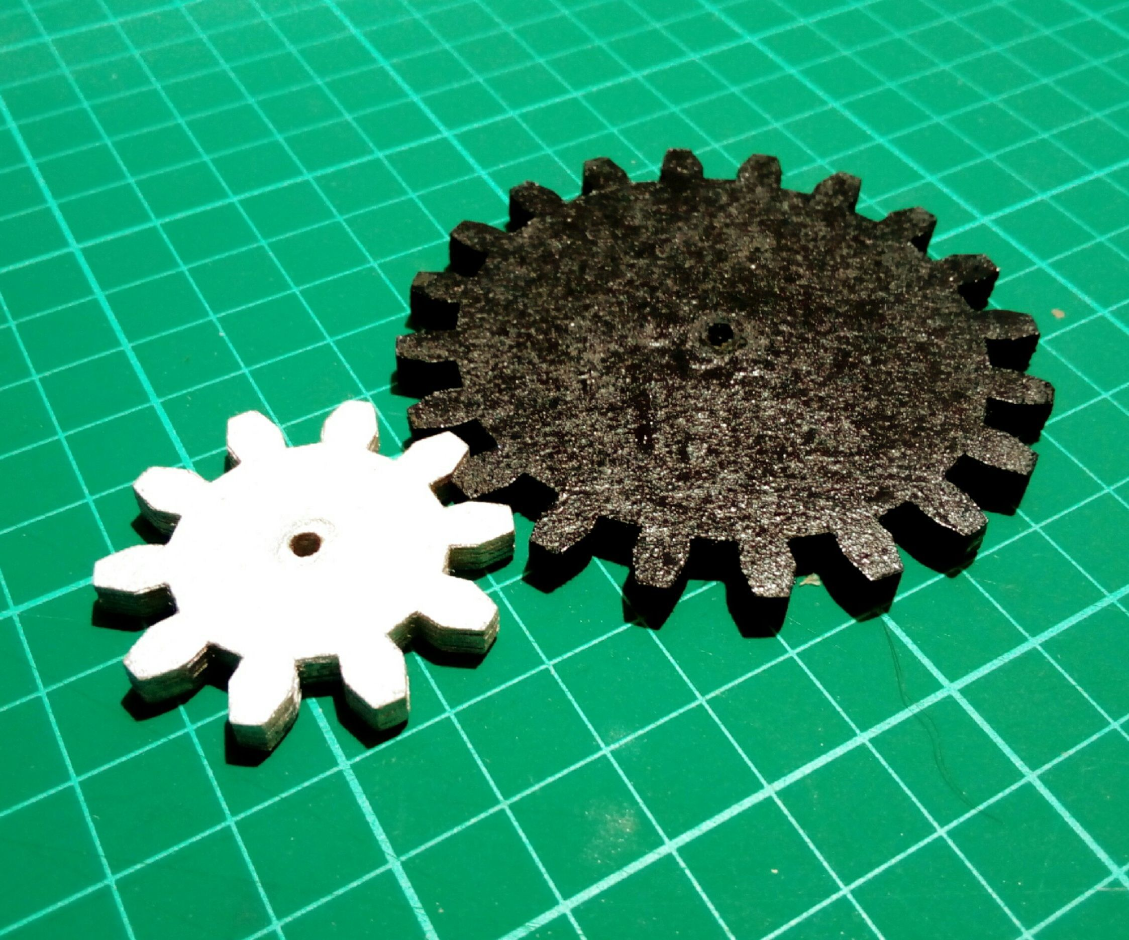 High Quality Functional Paper Gears for Your Machines (with Pictures)
