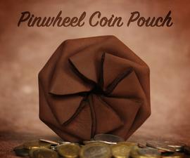 Pinwheel Coin Pouch