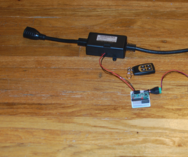 Remote on/off switch for up to 4 devices.