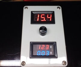 Selfmade Continiously Adjustable Step Up Power Supply