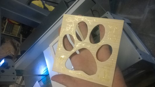Assembling the Pet Flap
