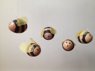 Add Thread for Hanging and Bee Happy!