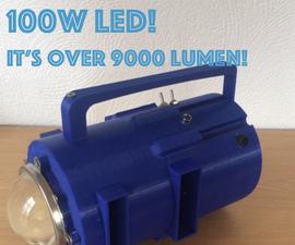 100W LED - Flashlight