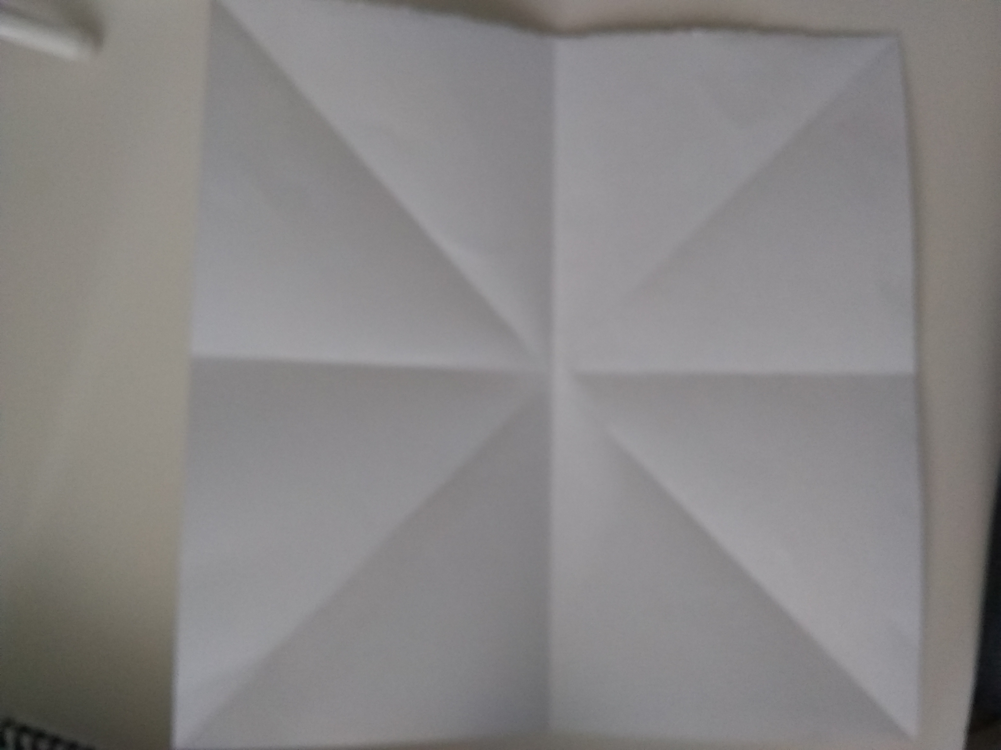 Picture of Step 1: Beginning Folds