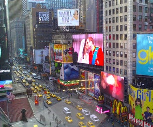 Times Square in Your Living Room!   Turn Your Sense Hat LED Into a News Ticker.