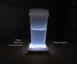1 Cell Bottle Illuminator - From Scrap