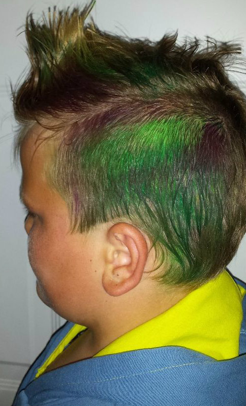 Picture of Color Mohawk, Get Your Swag On