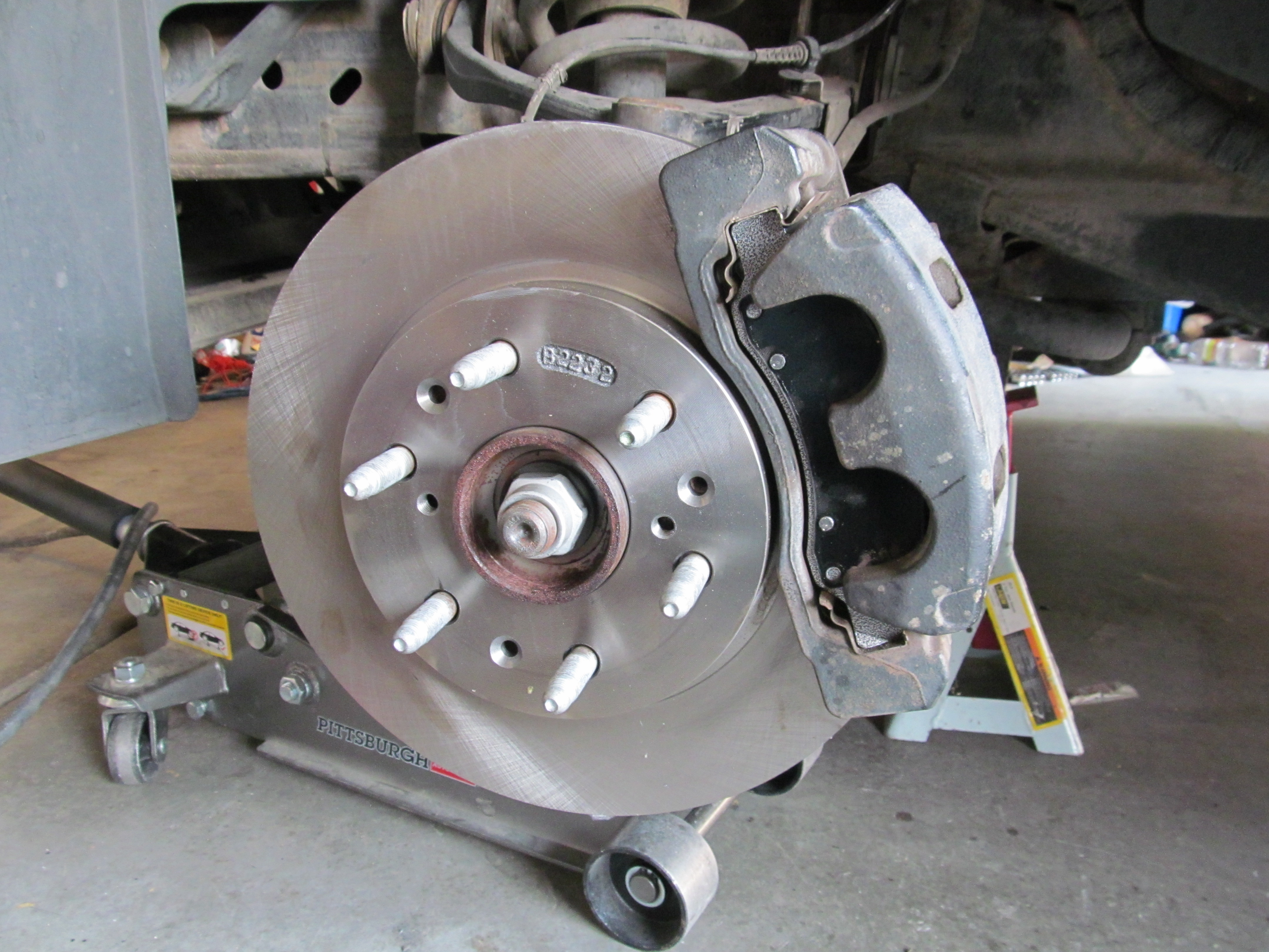 What Are Rotors On A Car >> Get Rid Of Steering Wheel Shake When Braking 9 Steps With