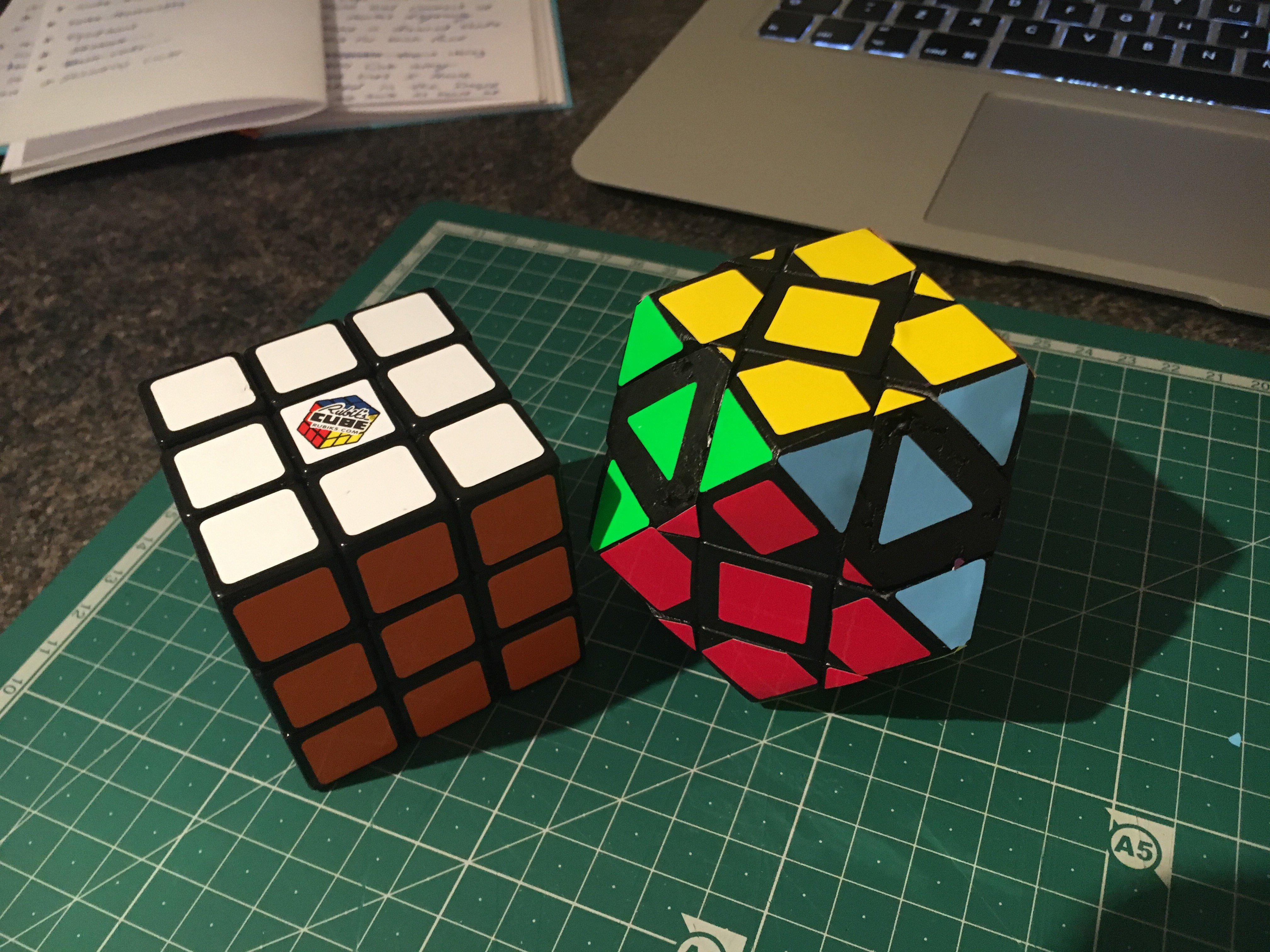 Picture of How to Make a Rubik's Cube-Octahedron