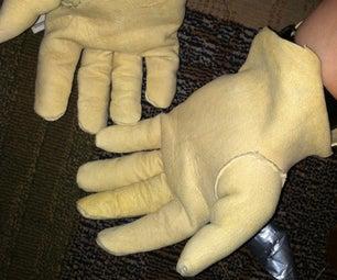 Buckskin Work Gloves!