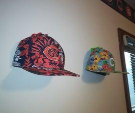 3D Printed Wall Mounted Hat Display