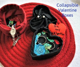 Collapsible Gift Boxes for Valentines Day