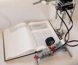 BrickPi Bookreader: Digitize Books With Mindstorms and Raspberry Pi