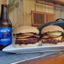 Double Bacon Cheeseburgers