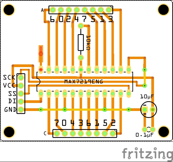 Picture of LED Controller Wiring