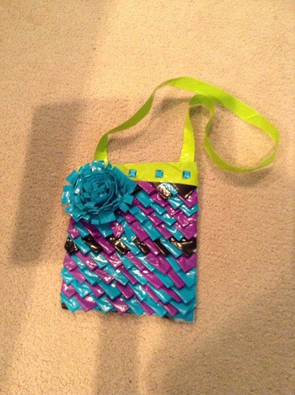 Awesome Duct Tape Purse