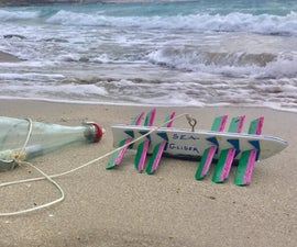 Wave Propeller for Message in a Bottle Reach Destination!