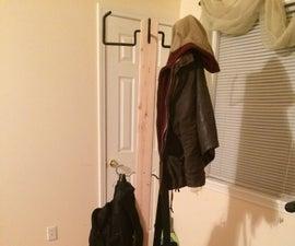 DIY Coat Rack under $30