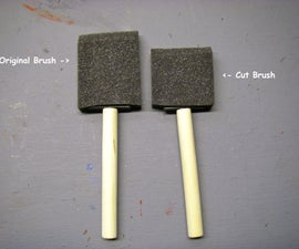 PAINTING TIP - SAVING FOAM BRUSHES