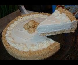 Rice Crispy Treat Cheesecake