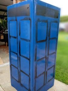 Stencil the Panels.