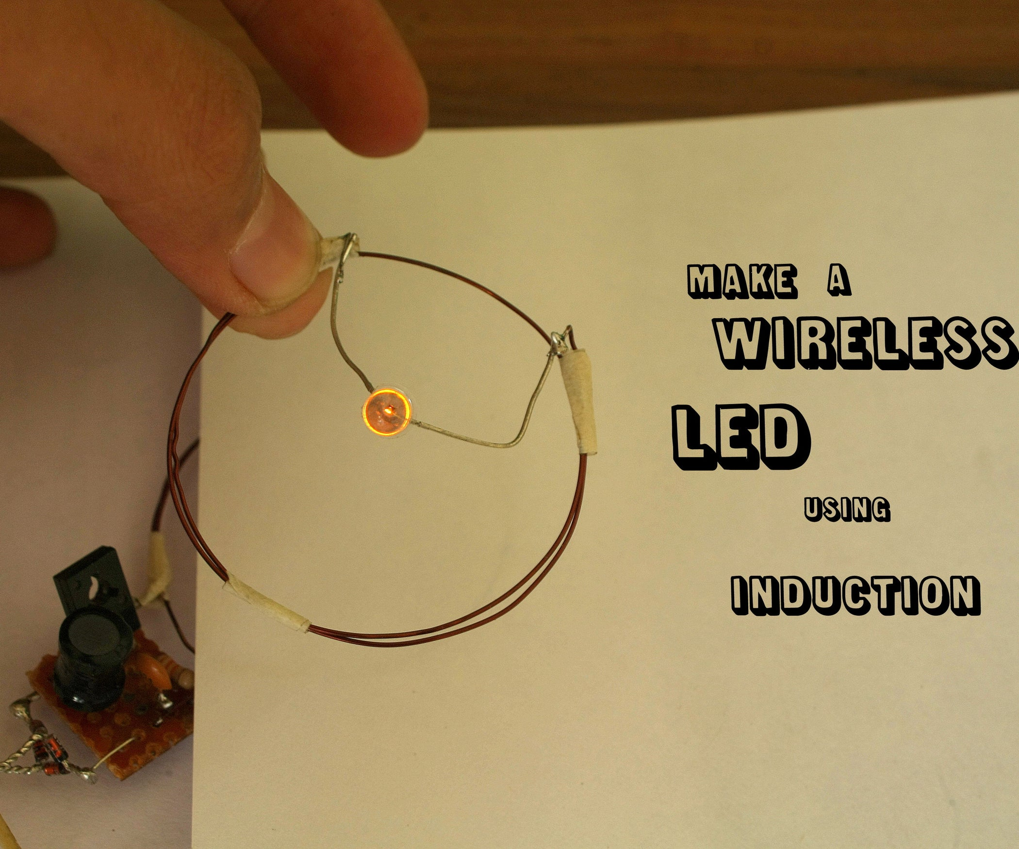 Easy Wireless Leds 5 Steps With Pictures Led Circuits And Schematics For The Hobbyist