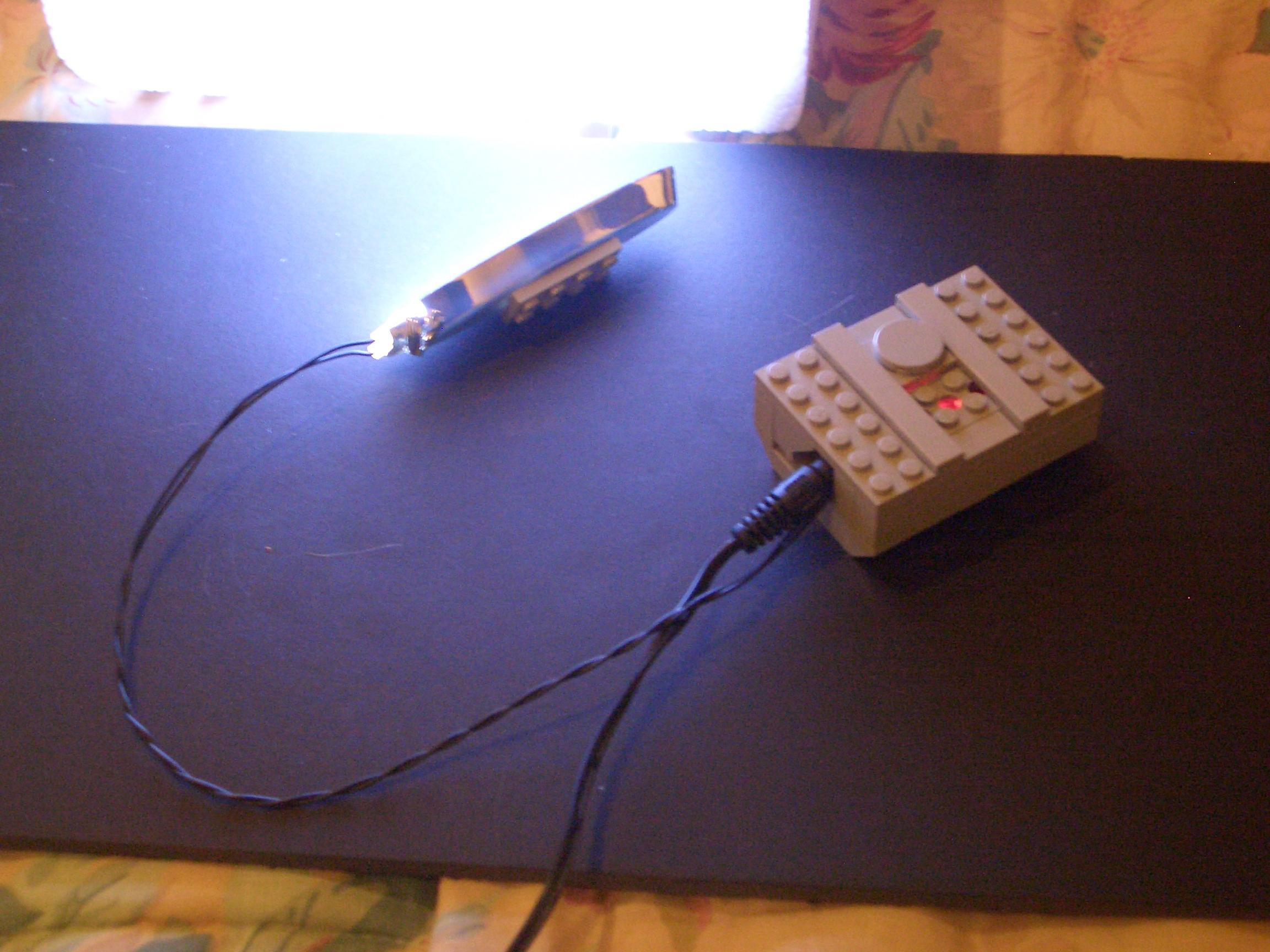 Super Bright Lego Light From 14 Radio Shack Desk Lamp 8