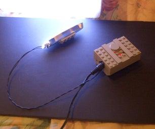 Super-bright Lego-light From $14 Radio Shack Desk Lamp