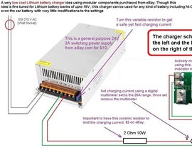 Make This Smart, Modular and Cheap Lithium Battery Charger System in Minutes!!