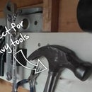 Easy guide for installing a magnetic shed/workshop tool organiser kit