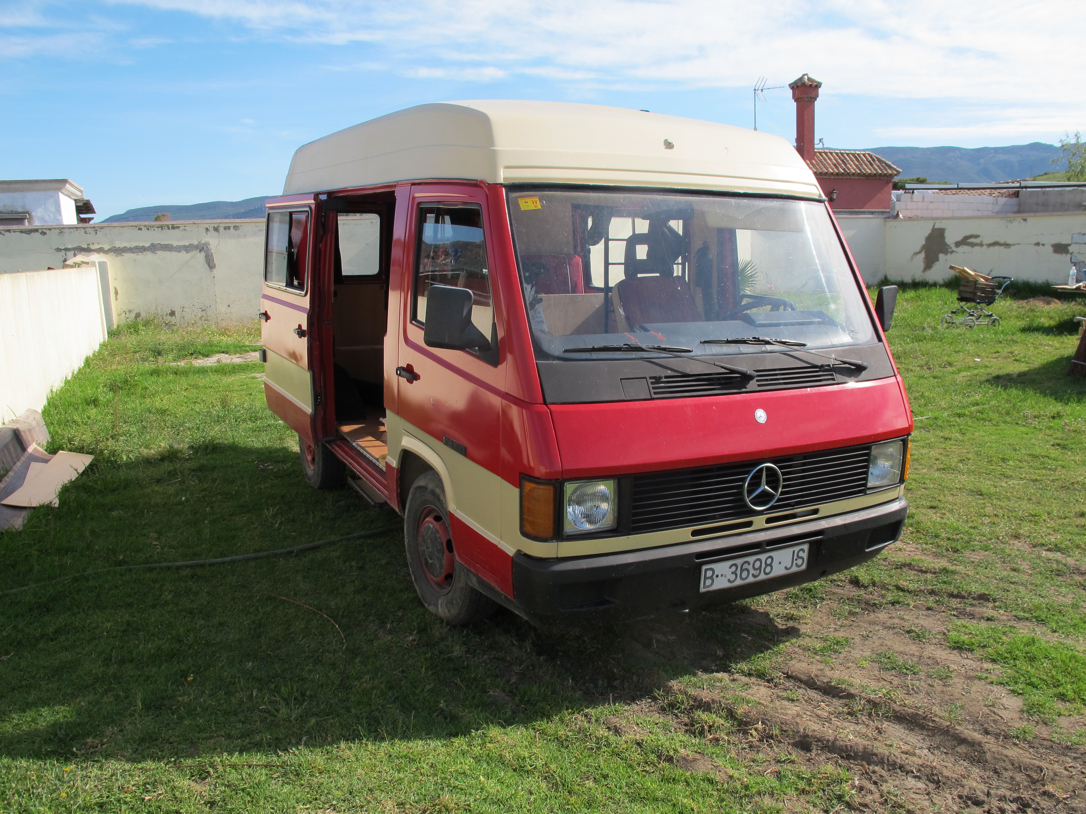 Picture of 80's Mercedes Campervan Conversion