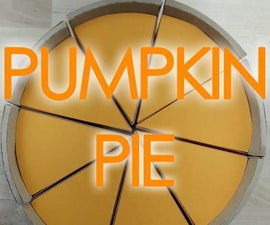 Thanksgiving Paper Pumpkin Pie