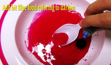Step 3: Add Blue Food Coloring
