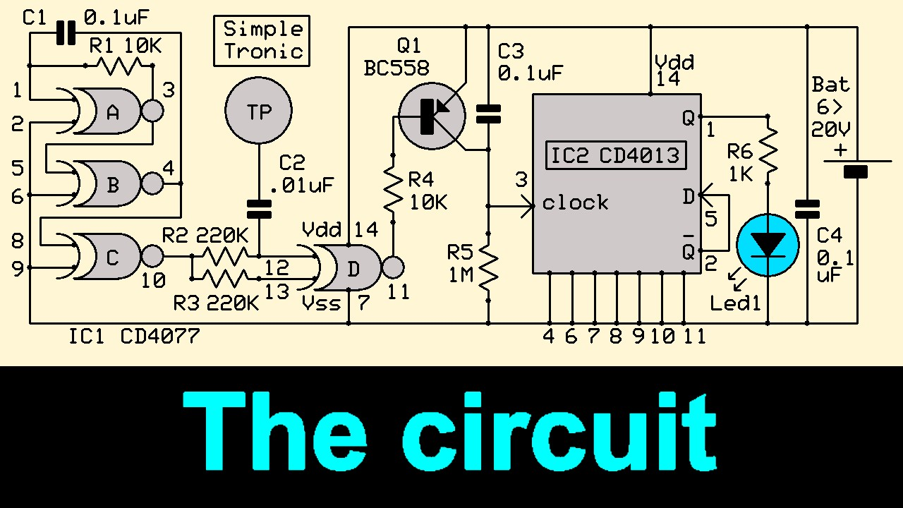 Picture of The Complete Circuit Diagram