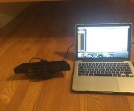 Kinect and Animation Rig Setup